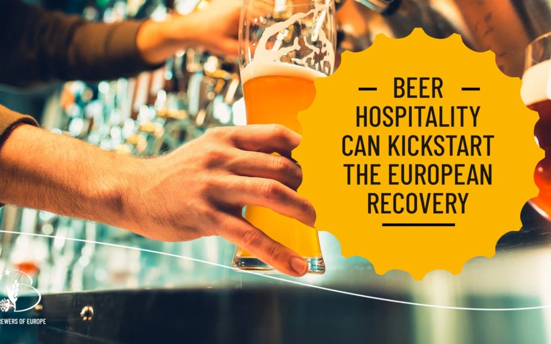 Beer hospitality can kickstart the european recovery